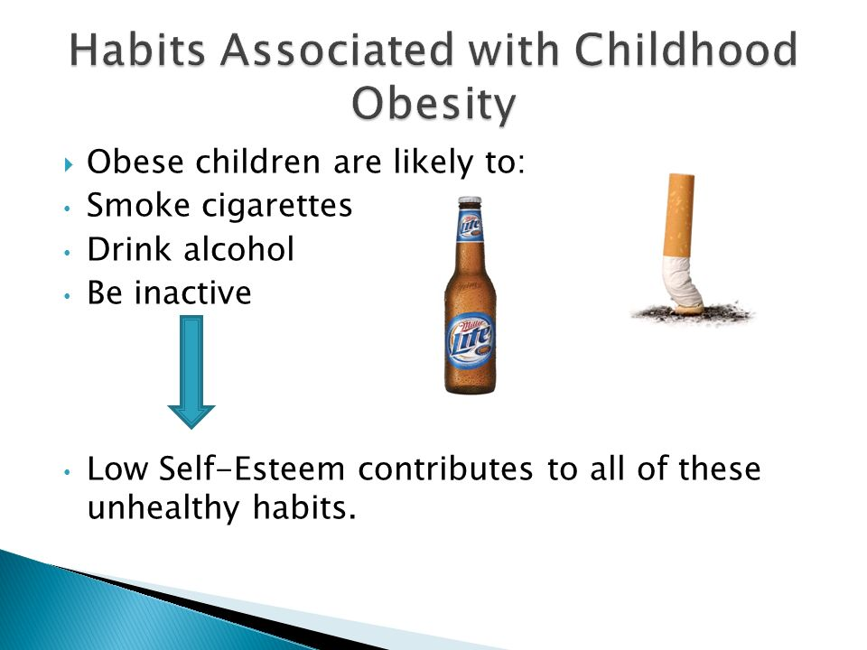 Habits Associated with Childhood Obesity