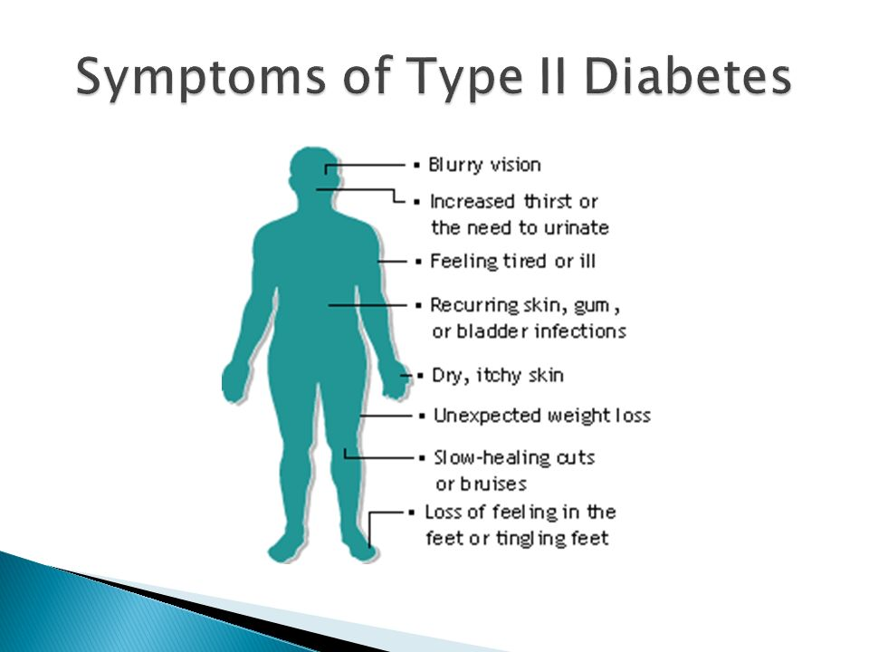 Symptoms of Type II Diabetes