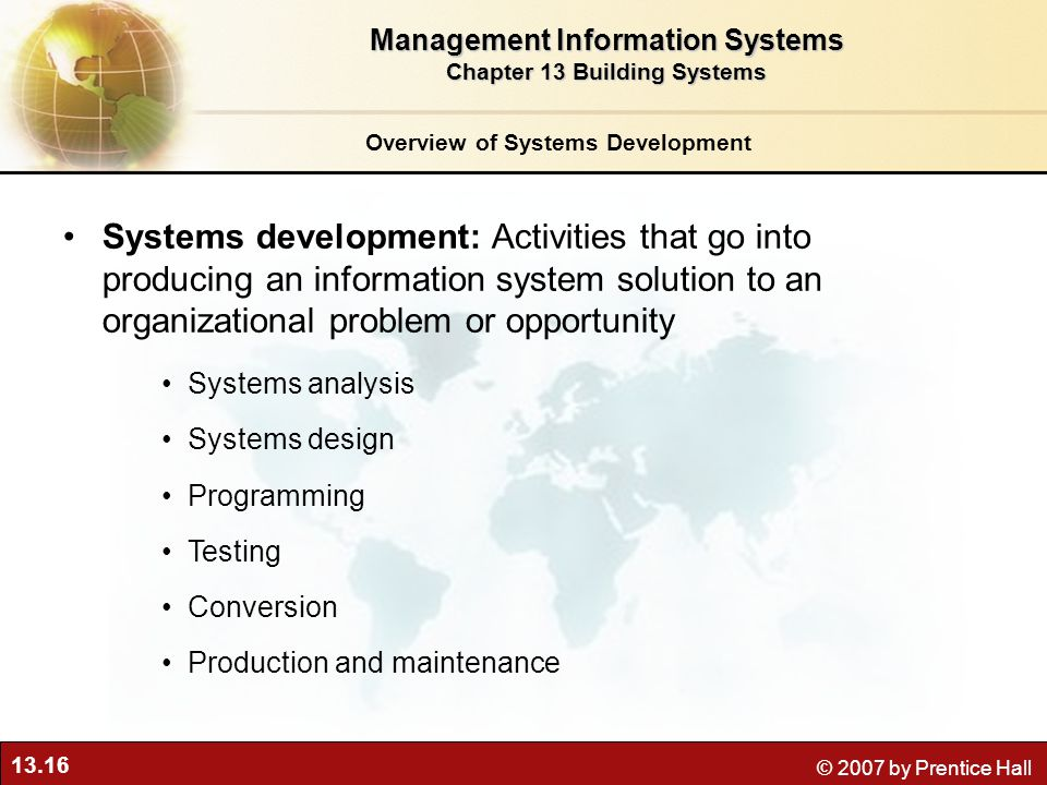an analysis of the information systems development process in organizations Build a business information system the requirements analysis was standard fare: meet with management, meet with functional experts, and meet with technical staff  the process was required to iterate the requirements via the prototype  the business information systems development organization the key components of the contact are the.