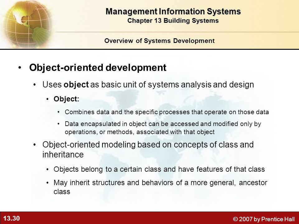 an analysis of the construction of object oriented database management systems Object oriented databases object oriented databases are also called object database management systems (odbms) object databases store objects rather than data such as integers, strings or real numbers.