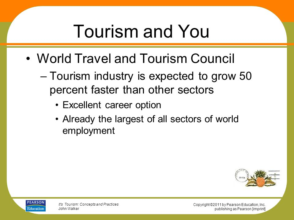 describe the key sectors in the travel and tourism industry Let's take a look at each of the major sectors of the travel industry and how  and attractions based upon what is available at their destination.