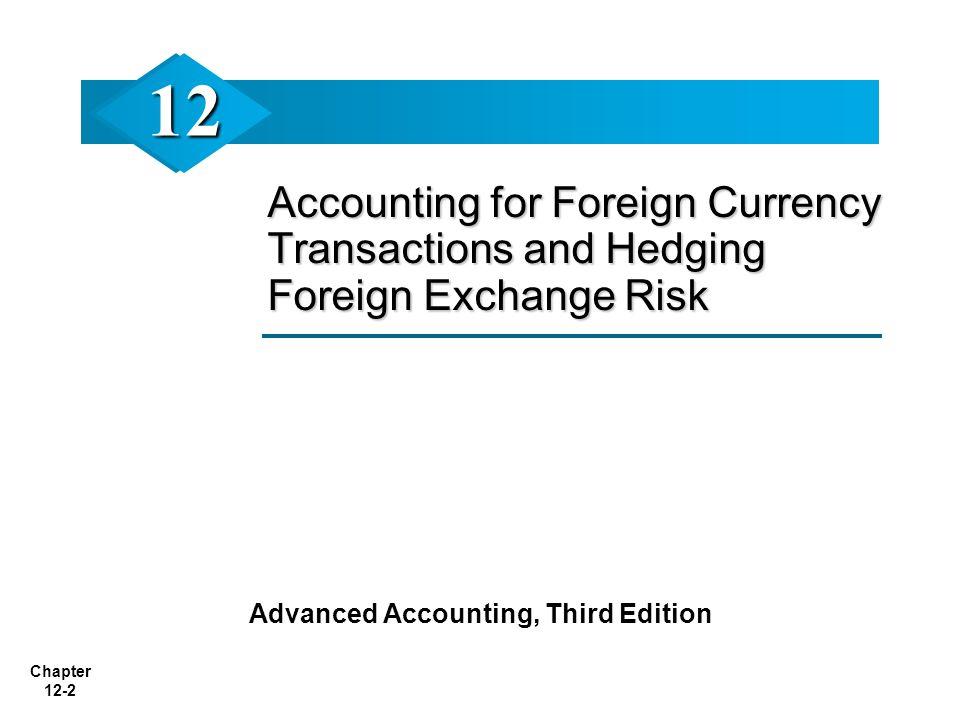 Advanced Accounting, Third Edition