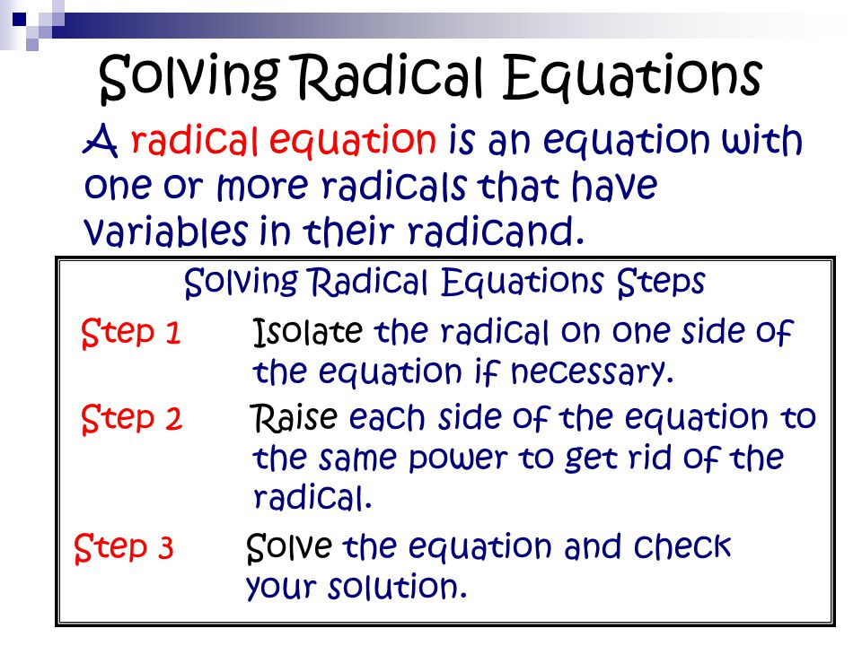 steps to solving equations pdf