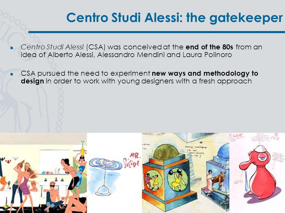 Centro Studi Alessi: the gatekeeper
