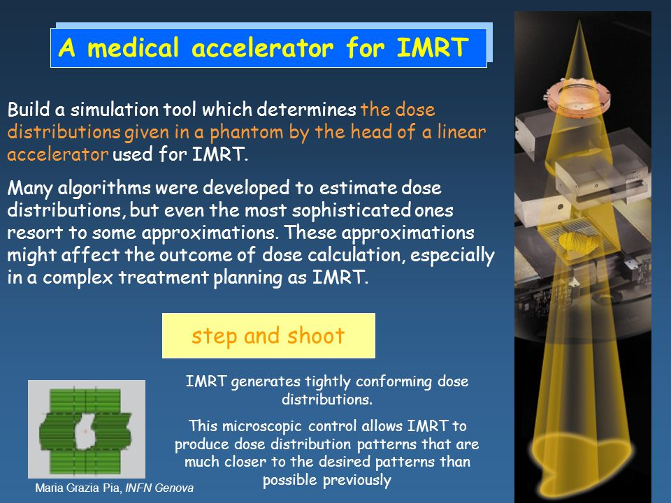 A medical accelerator for IMRT