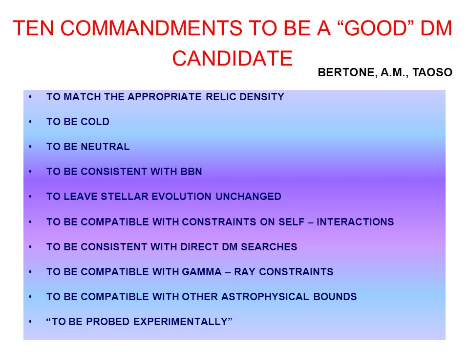 TEN COMMANDMENTS TO BE A GOOD DM CANDIDATE