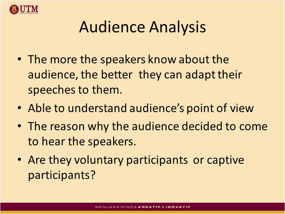 a discussion of adapting to the audience Adapting the curriculum  this curriculum is intended for adaptation by users and can be amended to reflect the following considerations the audience.