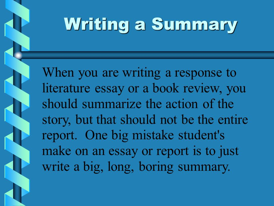 writing a essay summary Homepage writing samples academic writing samples essay samples summary essay samples it is not always that easy to compile the information in a.