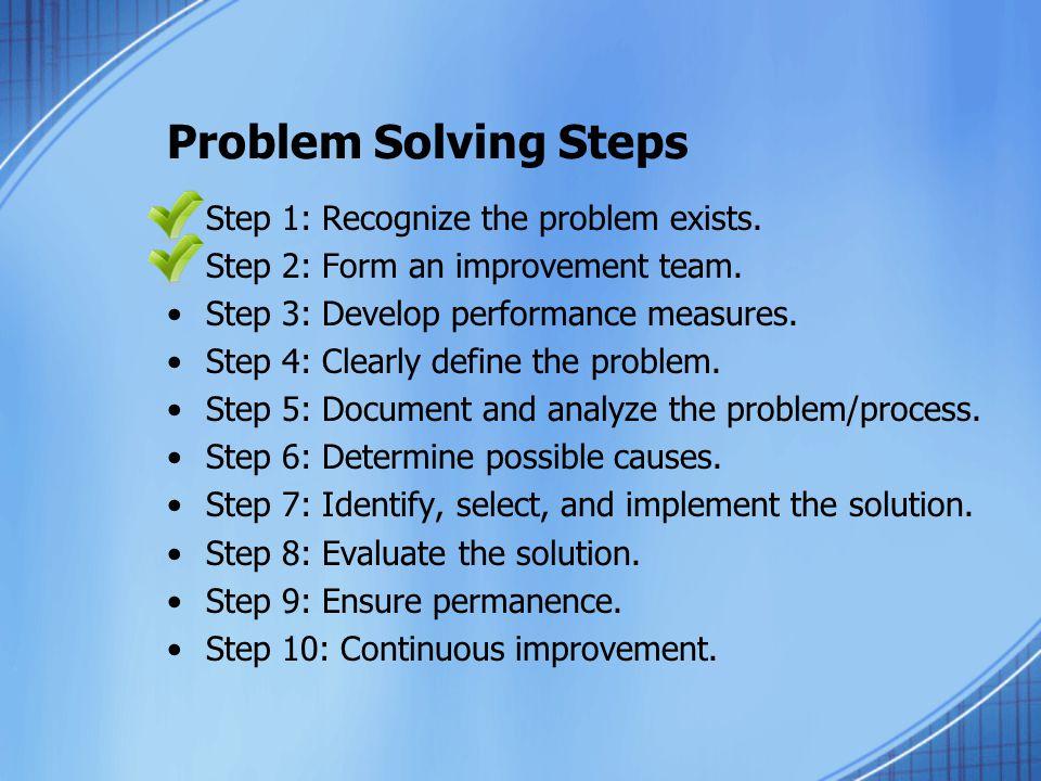 problem solving essay steps