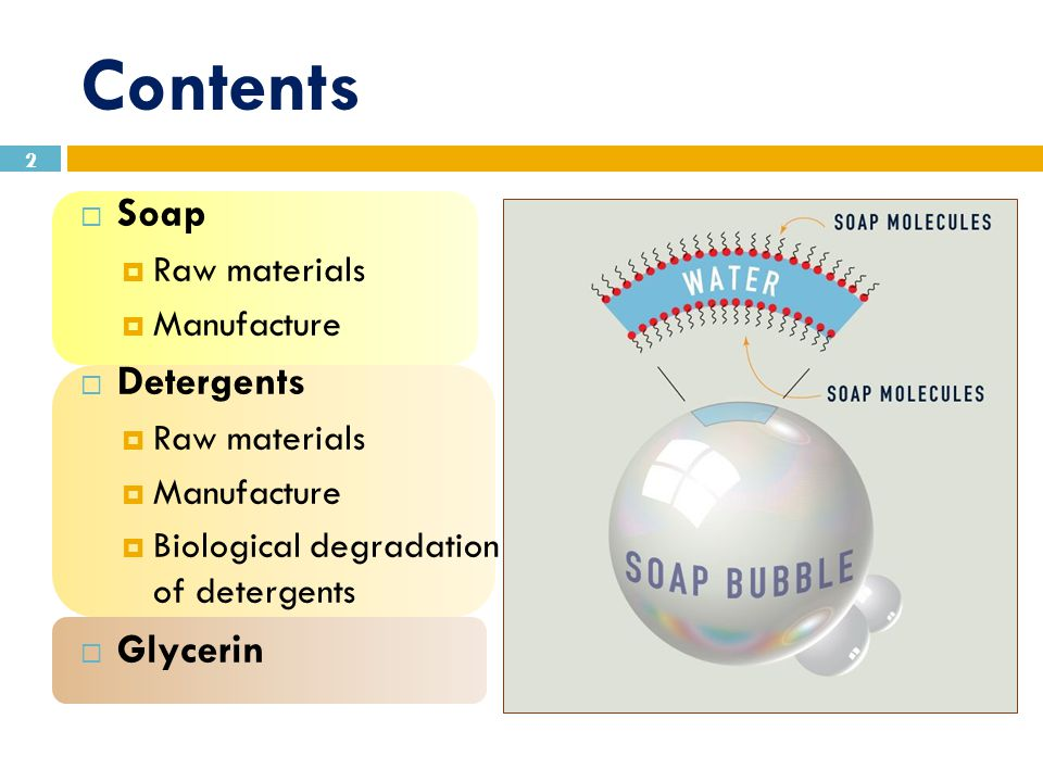 chemistry of soap and detergents pdf