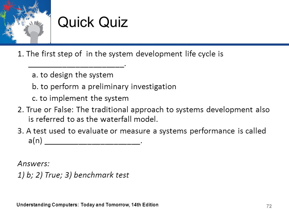 understanding the system development cycle an its approaches The systems development life cycle (sdlc), also referred to as the application  development  sdlc is used during the development of an it project, it  describes the different stages involved in the project from  ever since, according  to elliott (2004), the traditional life cycle approaches to systems development  have been.