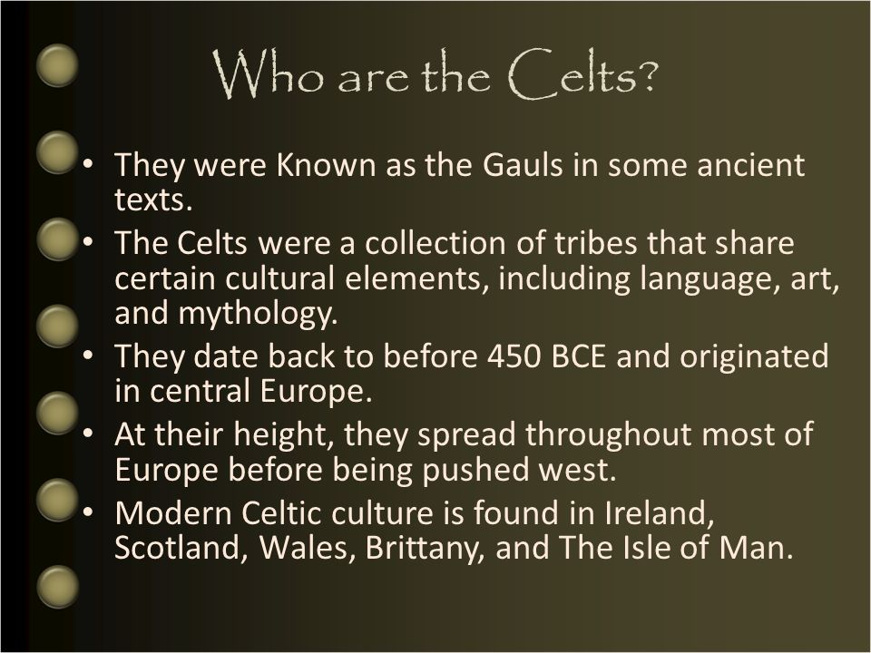 an introduction to the life and culture of ancient celts An introduction to the history of the ancient celts 3,958 words 9 pages an introduction to the life and culture of ancient celts 3,951 words 9 pages a survey of the characteristics of the life of the ancient celts 3,934 words 9 pages an introduction to the history and origins of ancient.
