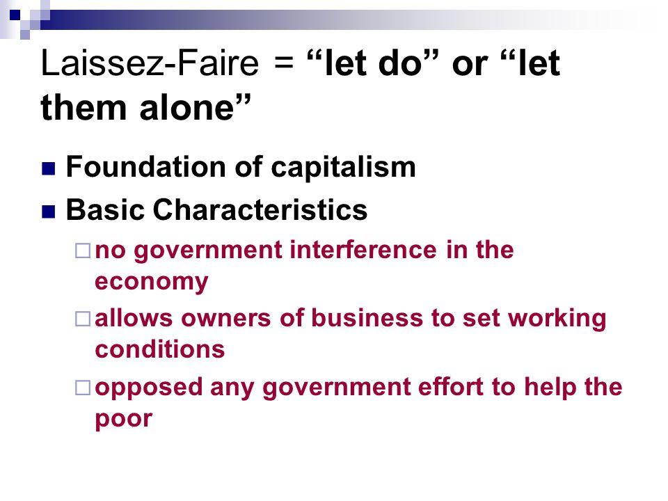 Laissez-Faire Economics - ppt video online download