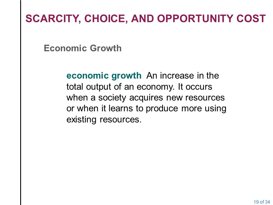 scarcity choice and opportunity cost essay In addition, my personal application of scarcity and opportunity cost is something i can relate to especially as a student in college college is very expensive especially with the cost rising but i choose to go to college because of the benefits it provides for me for the future such as receiving a college degree to find a job.