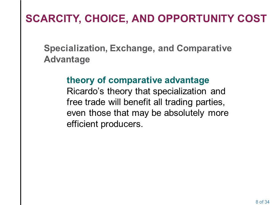 theory of comparative cost pdf