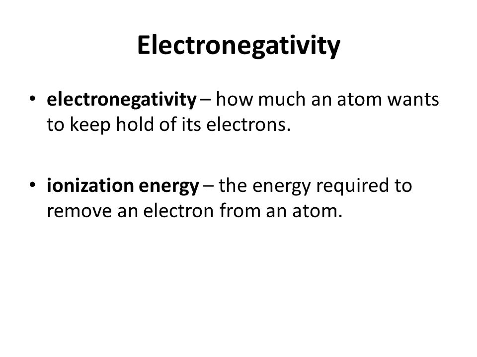 how to find the energy required to remove an electron
