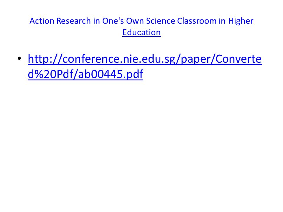 Design Of Classroom Action Research Pdf ~ Classroom action research ppt video online download