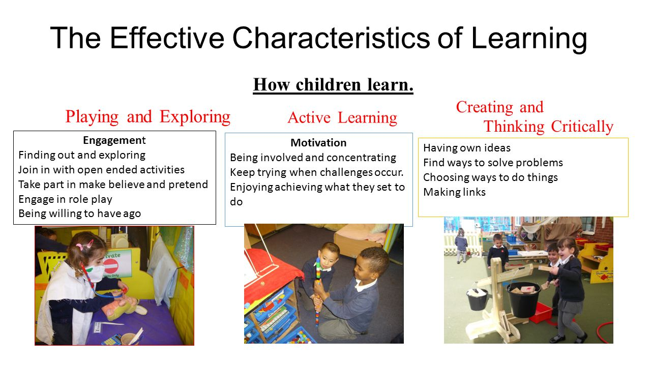 The Effective Characteristics of Learning