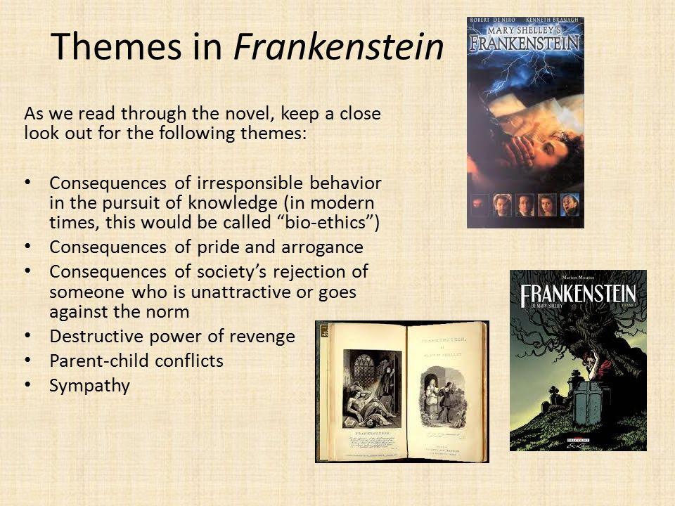 theme of revenge in frankenstein
