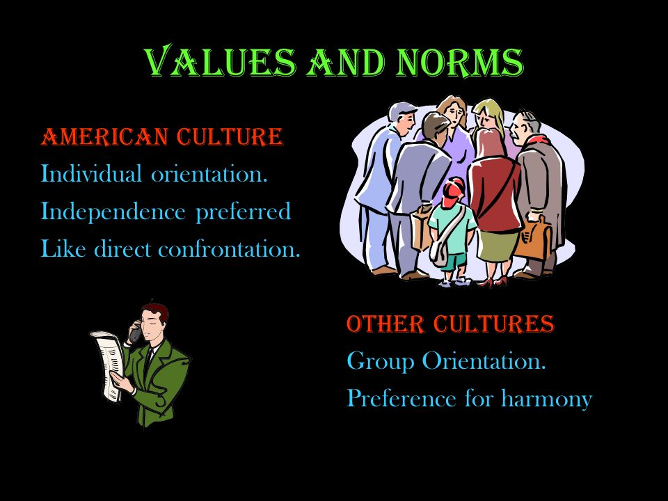 Cultural values and norms of americans thanksgiving Term