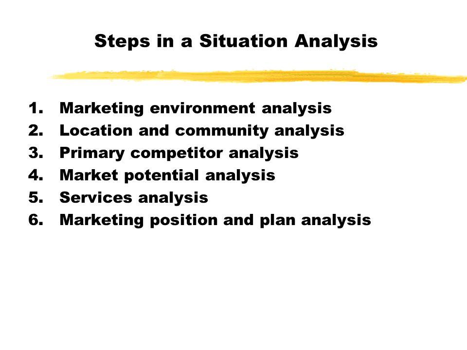 situation analysis in marketing pdf