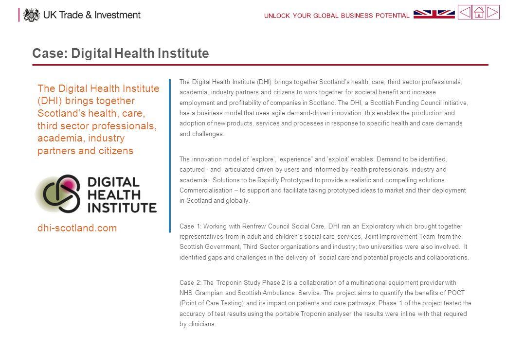 Case: Digital Health Institute