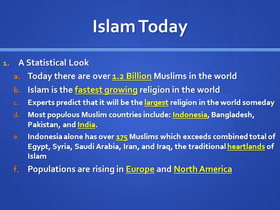 a look at islam and christianity two of the most popular religion in the world He was one of the most great prophet of god   that proves that islam is a false  religion and that it has an official teaching which is blatantly false and  the  more i think about it, the more i see the mark he left on this world the work he  fulfilled was essentially overturning christian europe, not by violence but by  deception.
