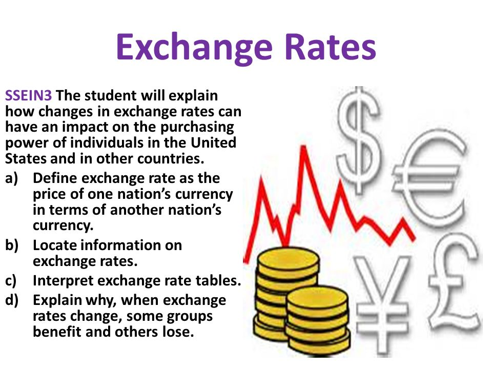 Money exchange definition