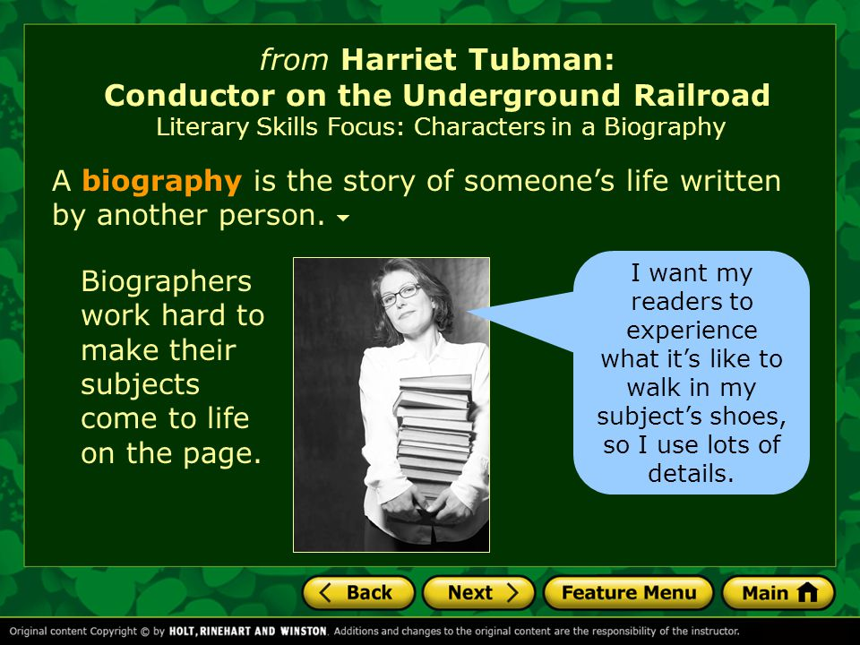 """harriet tubman and underground railroad Harriet tubman is well known for risking her life as a """"conductor"""" in the underground railroad, which led escaped slaves to freedom in the north."""