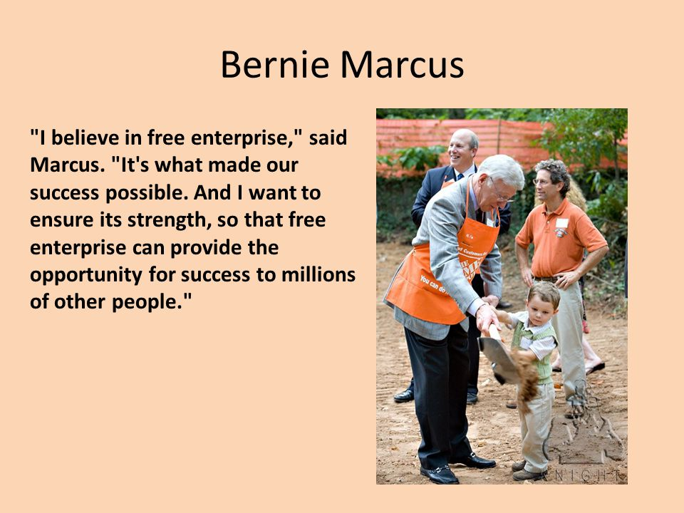 a study on the development of home depot by bernie marcus and arthur blank How home depot ceo frank blake kept his legacy from being hacked  bernie marcus and arthur blank it put the frontline store associate on top and the management team on the lowest level.