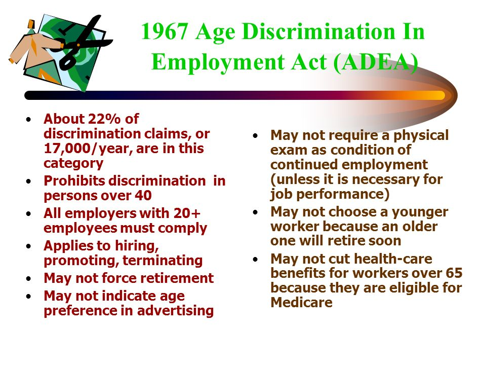 age discrimation term paper Term paper on age discrimination in the work place the study centers on age discriminatory procedures disturbing older workers at the same time as both positive and negative age discrimination procedures have been acknowledged, the.
