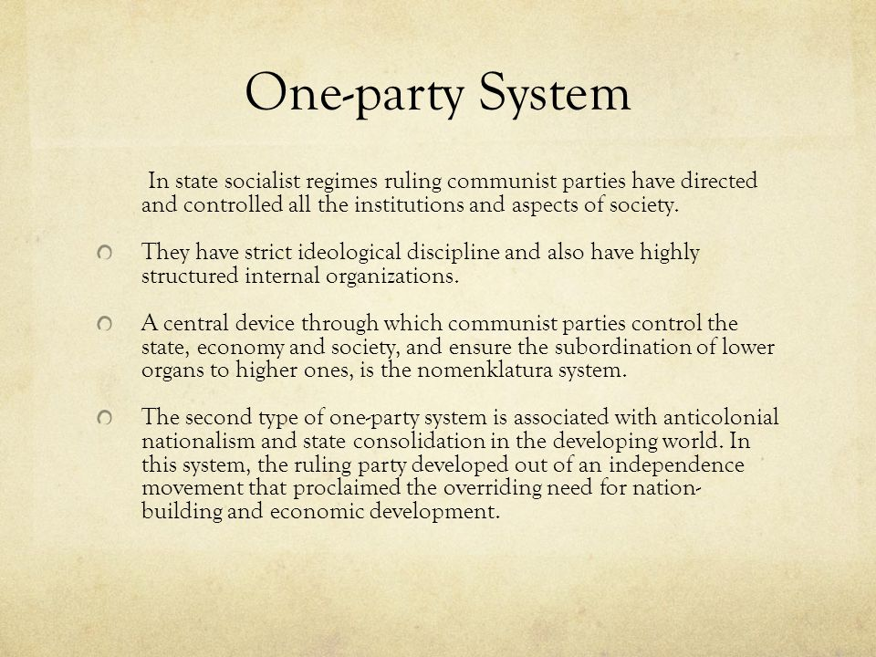 development of parties and party systems A brief look at the history of third parties in  libertarian party, and natural law party these parties did not have millions at their disposal to spend and.