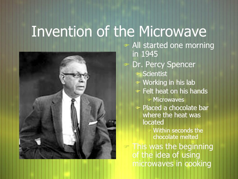 3 Invention Of The Microwave