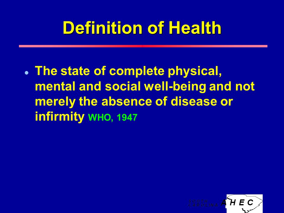 who definition of mental health pdf