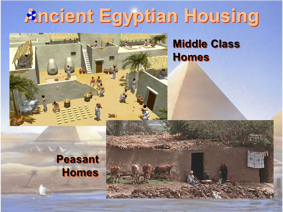 Ancient Egyptian Artisans Homes