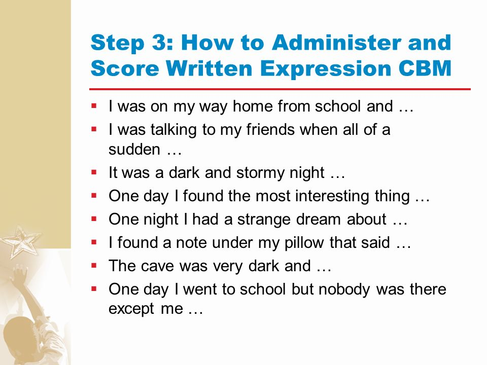 writing cbm Welcome to cbm reading cbm reading (formerly diagnostic reading progress monitoring - drpm) was developed to help professionals.