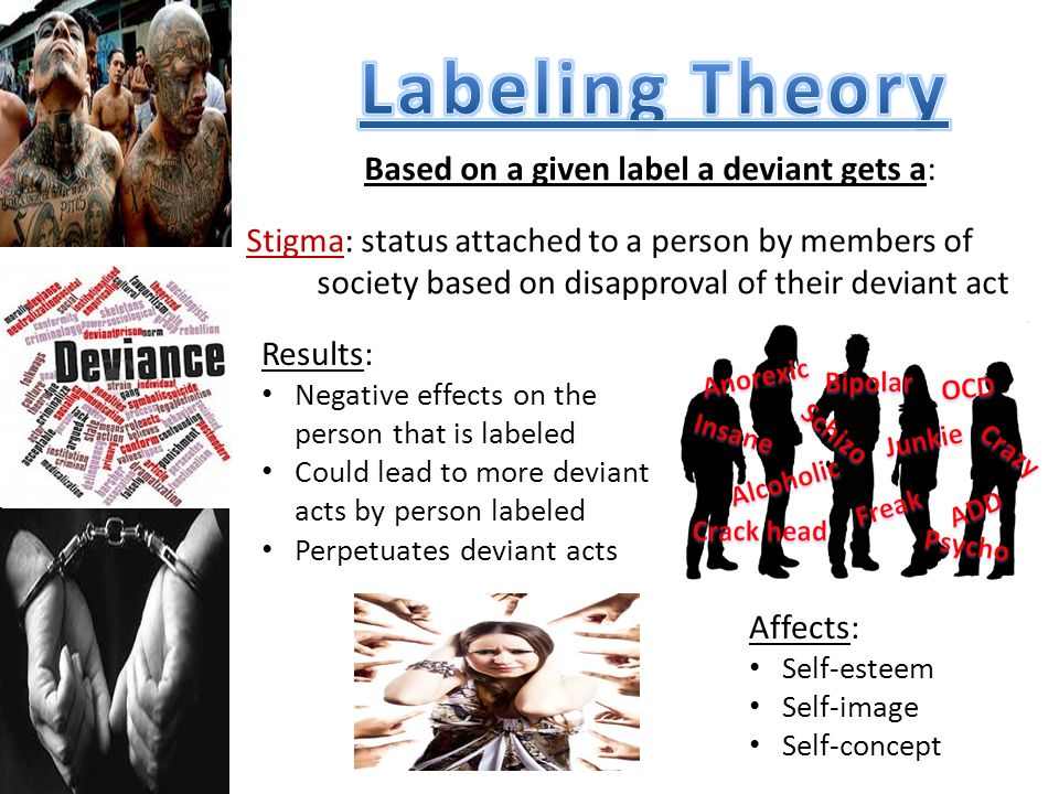 Labeling Theory Based on a given label a deviant gets a: