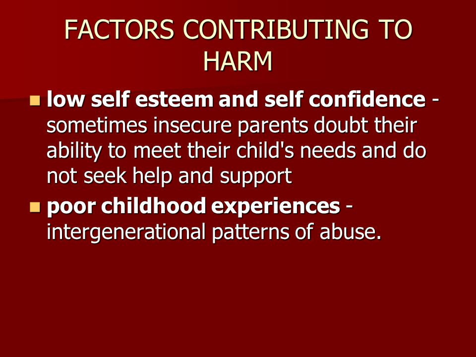 factors contributing to child abuse Child abuse — learn about symptoms, risk factors and prevention of child abuse and neglect.