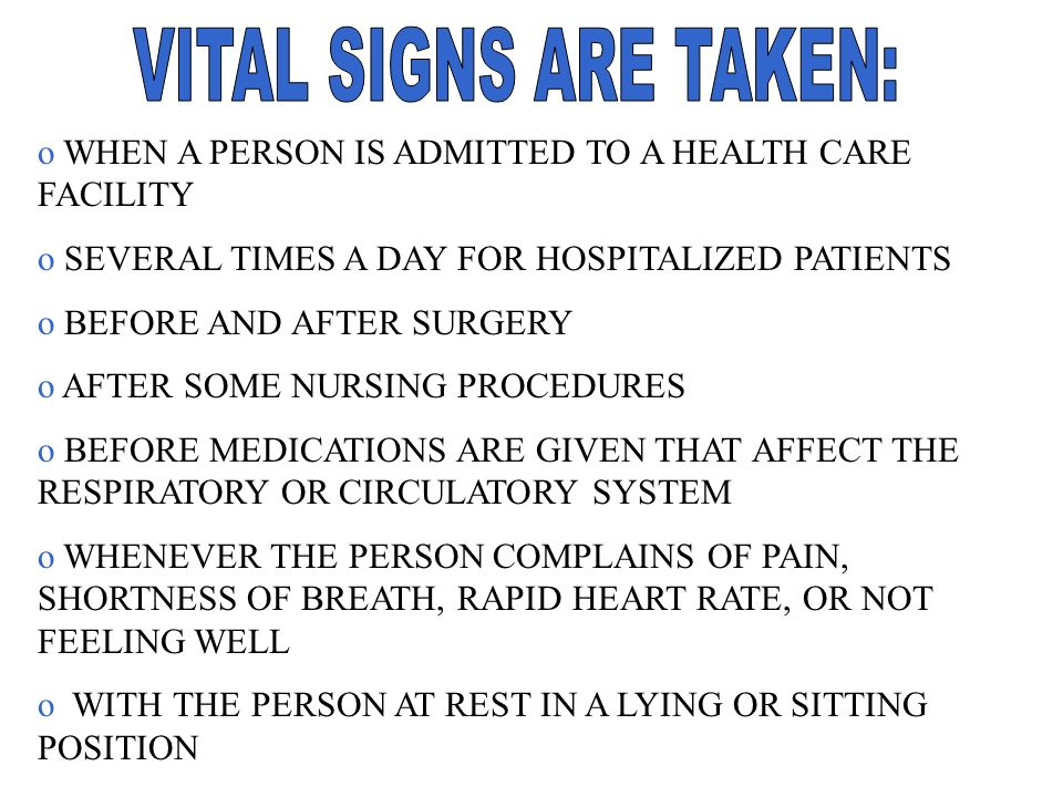 VITAL SIGNS. - ppt video online download