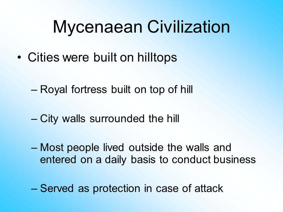 the fall of the mycenaean civilization By the late thirteenth century bc, however, mainland greece witnessed a wave of destruction and the decline of the mycenaean sites, causing the withdrawal to .