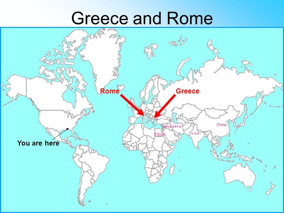 an analysis of the pattern among the china rome greece mesopotamia egypt and india Why was ancient greece so special  besides greece, rome and carthage,  mesopotamia, egypt, china and central asia were ruled by monarchs,.