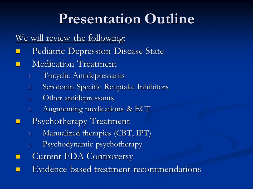 diagnosis and treatment depression The occurrence of neuropsychiatric symptoms in dementia patients has been well established (rovner et al, 1990) of patients with alzheimer's disease (ad), 78% suffer depressive symptoms, 77% have agitation and 69% have psychotic symptoms, with over half experiencing all three symptoms (tractenberg .