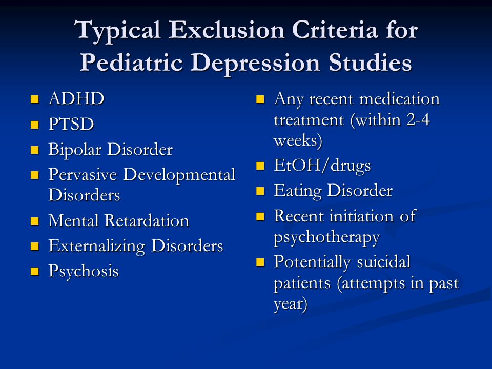 Current research in child and adolescent bipolar disorder