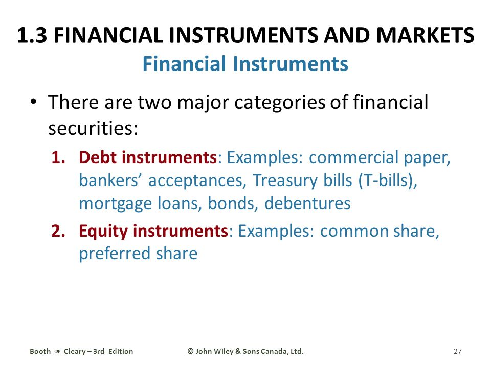 Mortgage Bonds And Debentures