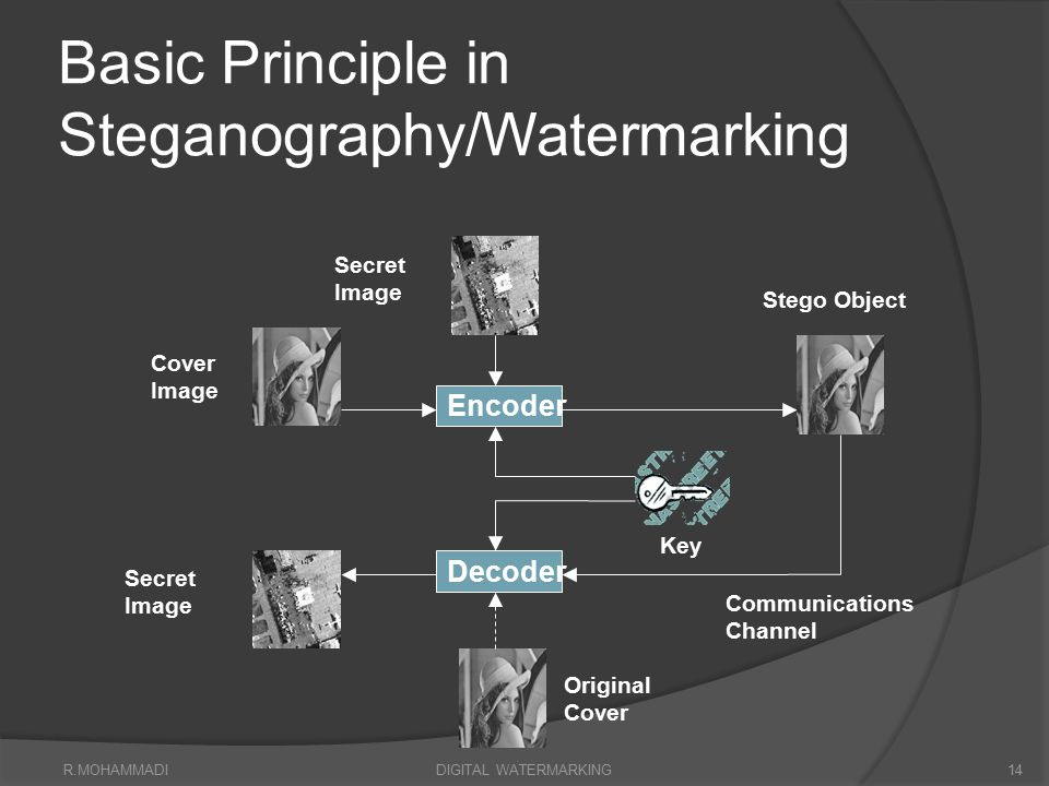 Basic Principle in Steganography/Watermarking