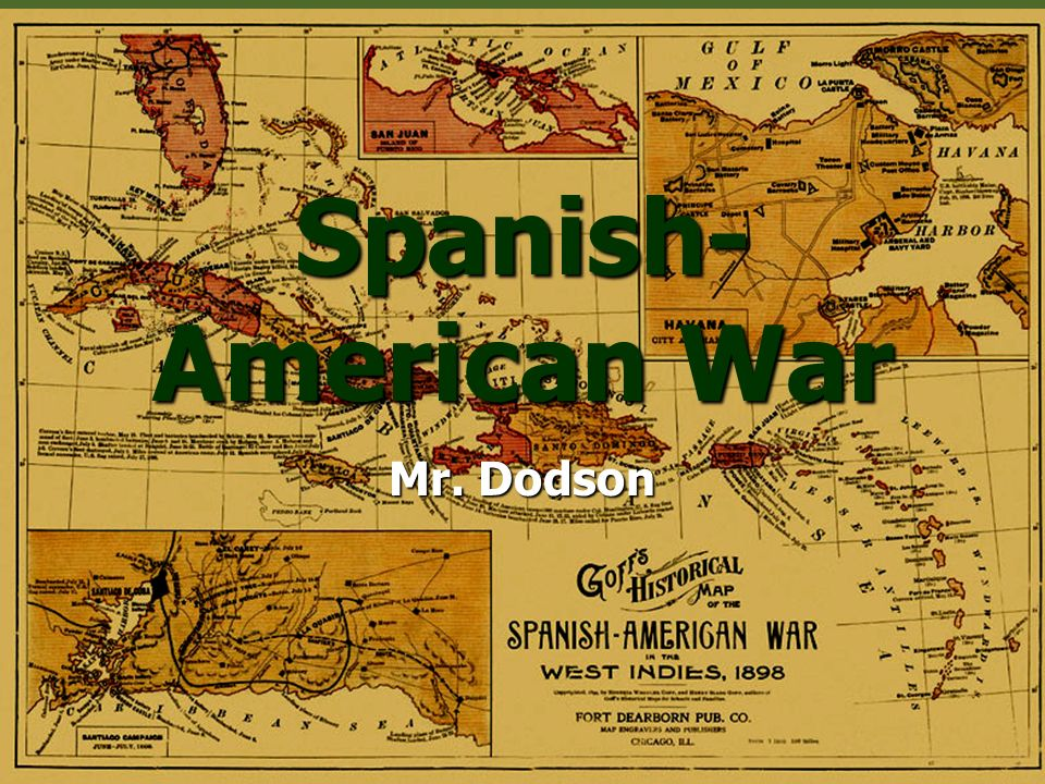 "Was the Spanish-American War Truly as John Hay Said, a ""Splendid Little War"""