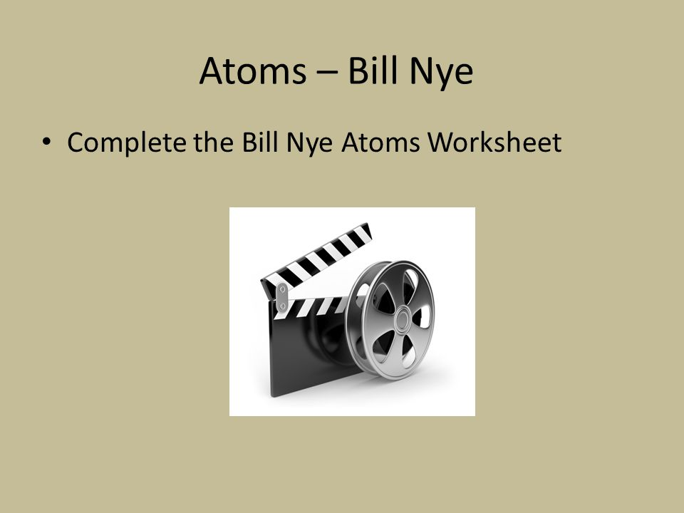 Bill nye the science guy atoms and molecules worksheet