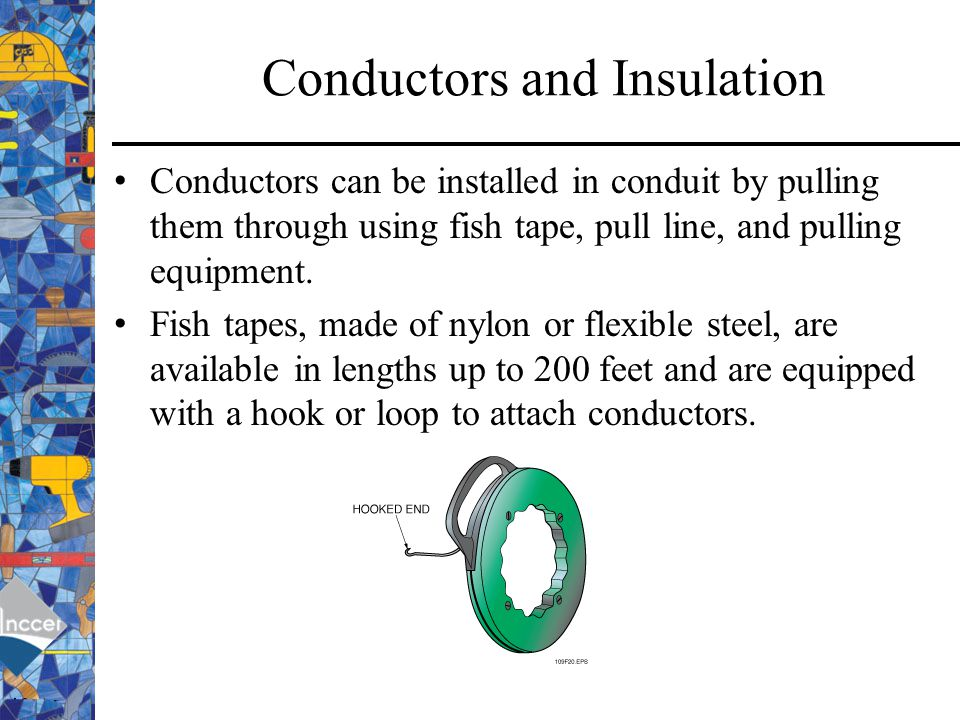 how to use fish tape through insulation