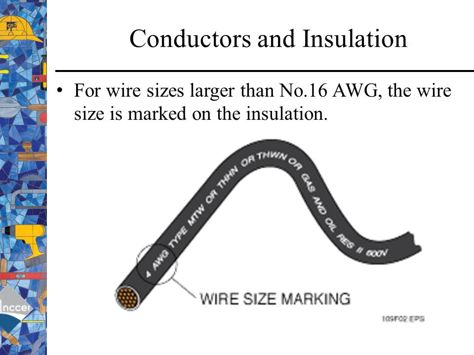 Awg american wire gauge ppt video online download conductors and insulation greentooth Choice Image