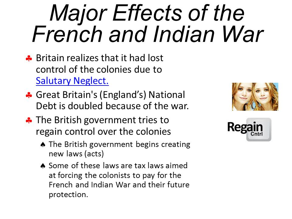 Major Effects of the French and Indian War